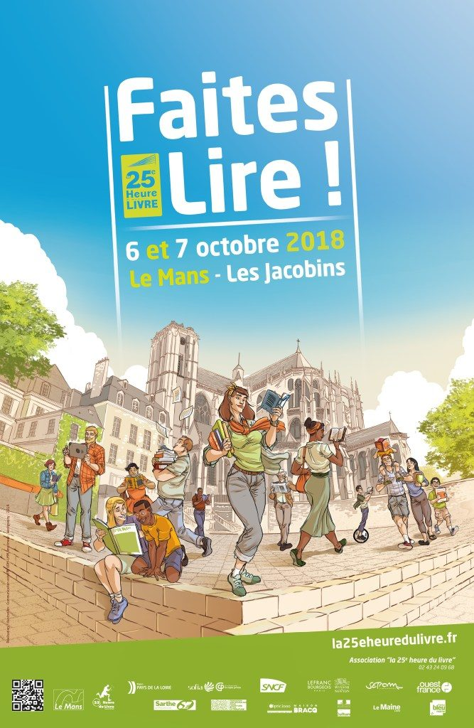 06/10/2018 – Salon La 25e Heure du Livre