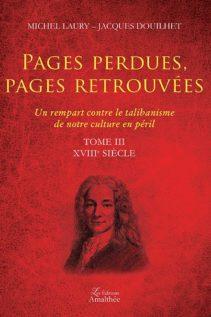 Pages perdues - Pages retrouvées - Tome 3